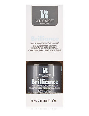 Brilliance Seal & Shine Top Coat Nail Gel 9ml