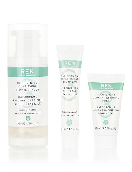 Hit The Spot Regime Kit for Blemish Prone Skin Worth £23.00