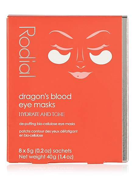 Dragon's Blood Eye Mask 8 Pack 40g