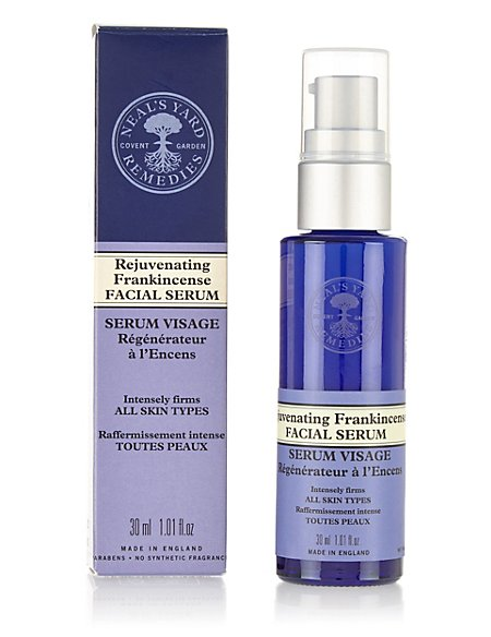 Rejuvenating Frankincense Facial Serum 30ml