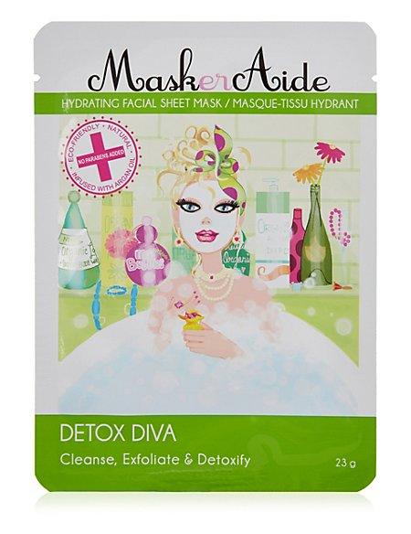 Detox Diva- Cleanse, Exfoliate & Detoxify Face Mask 23g