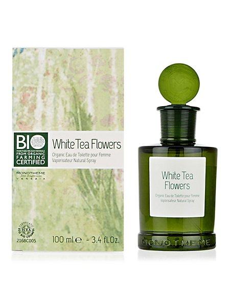 White Tea Organic Eau de Toilette 100ml