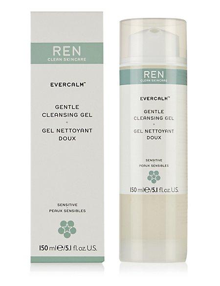 Ren - Evercalm Gentle Cleansing Gel (For Sensitive Skin) -150ml/5.1oz Chicken Poop Free Range Chicken Poop Lip Balm (6 ea) By Simone Chickenbone