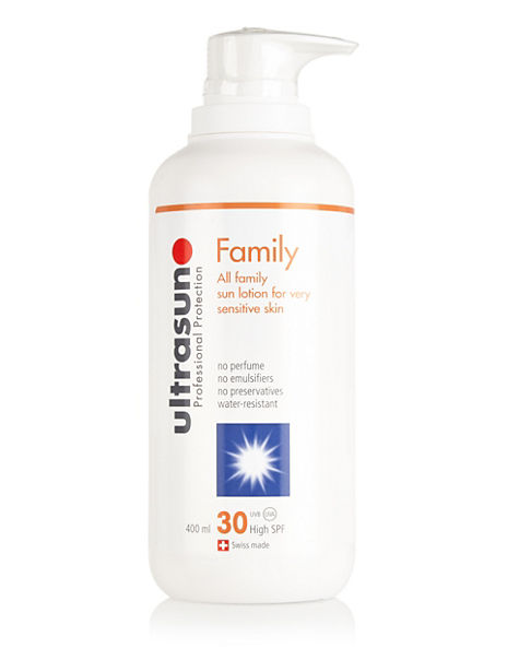Super Sensitive Sun Lotion SPF 30 400ml