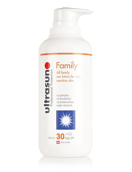 Super Sensitive Sun Lotion SPF30 400ml