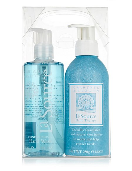 Crabtree & Evelyn® La Source Hand Care Duo 250ml