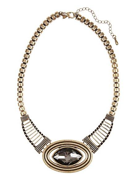 Diamanté Collar Necklace