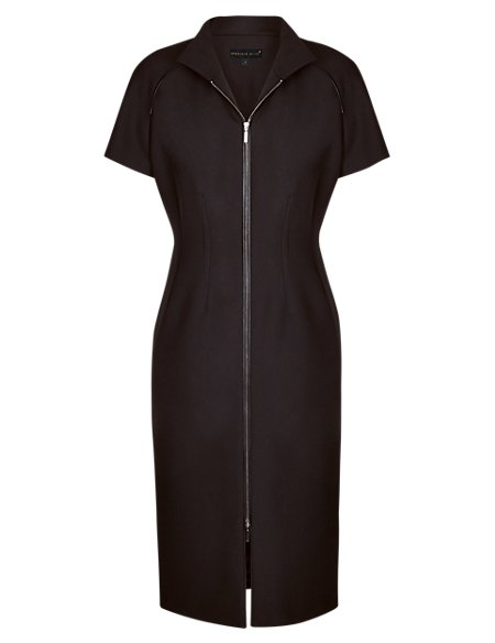 Speziale Zip Through Seam Shift Dress