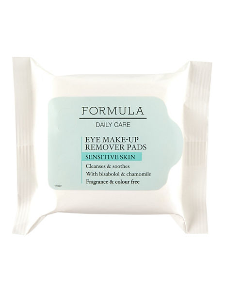 Daily Care Eye Make-Up Remover Pads for Sensitive Skin