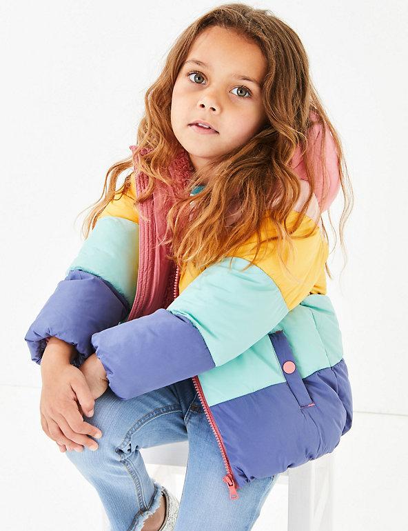 Rainbow Padded Coat (3 Months 7 Years