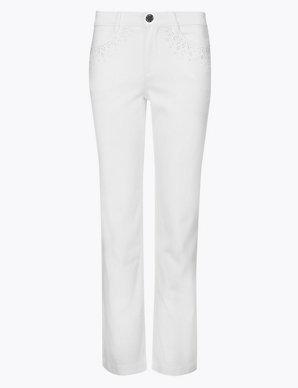 949af75451017 Roma Rise Straight Leg Jeans | Per Una | M&S