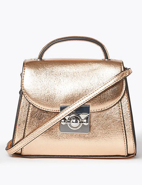 Mini Top Handle Shoulder Bag