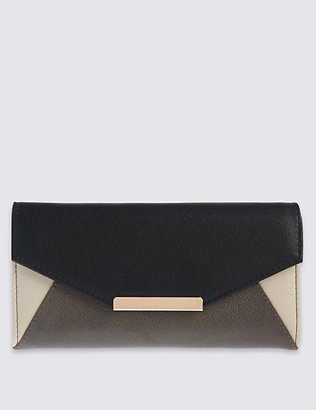 Colour Block Purse with Cardsafe™