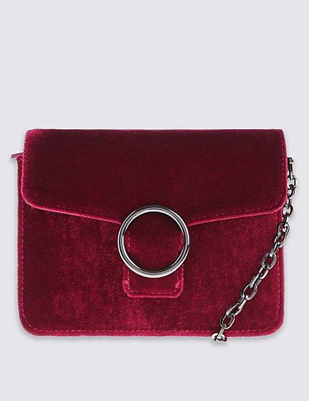 Ring Boxy Shoulder Bag