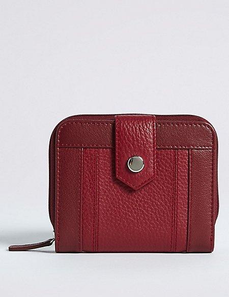 Leather Stud Purse with Cardsafe™