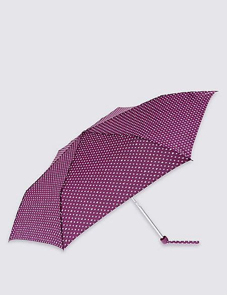 Polka Heart Umbrella with Stormwear™