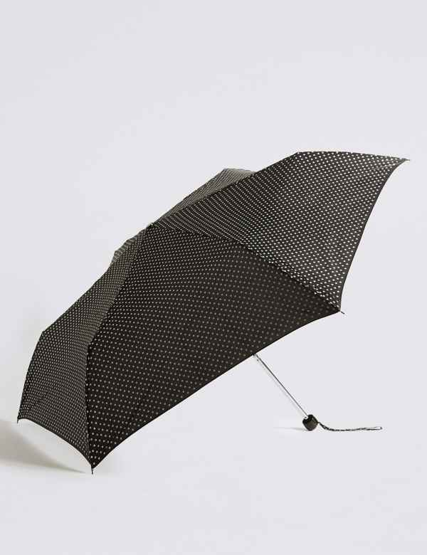 fdcecf6f4b3b Spotted Compact Umbrella with Stormwear™