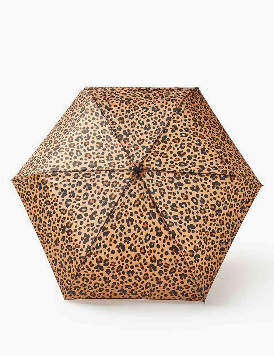 5f910eaceb7fc Animal Print Compact Umbrella | M&S Collection | M&S