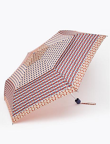 Geometric Print Umbrella
