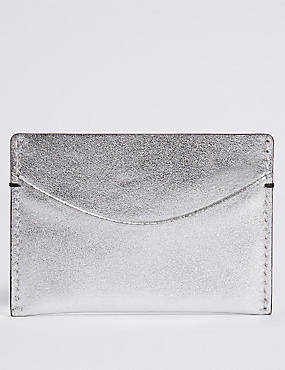 Leather Card Holder Purse