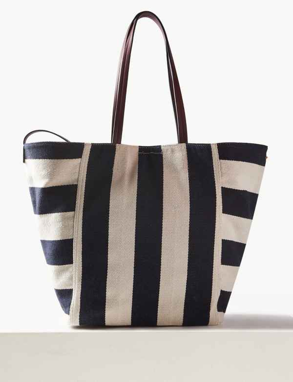 2fe8d2f81c0d Striped Tote Bag