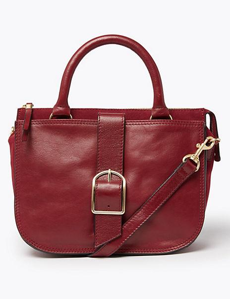 Heritage Leather Saddle Bag