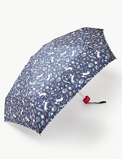 Printed Compact Umbrella