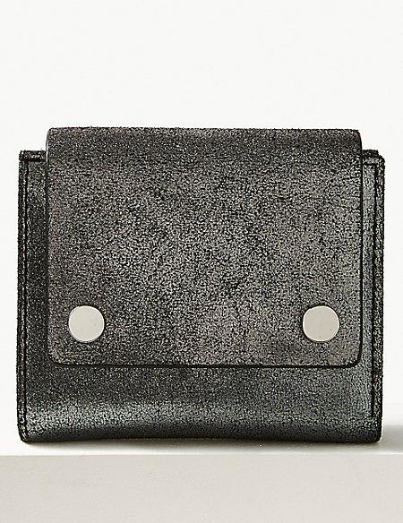 Leather Stud Purse