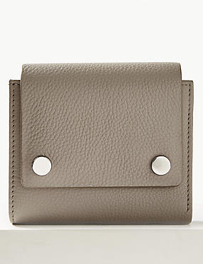 Leather Stud Purse