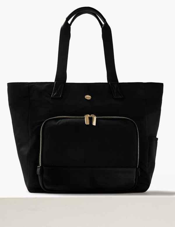 Zipped Through Shopper Bag c0dfef5cf0d6d