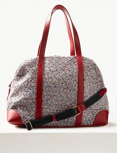 Zipped Detail Weekender Bag