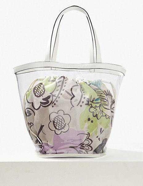 Transparent Shopper Bag