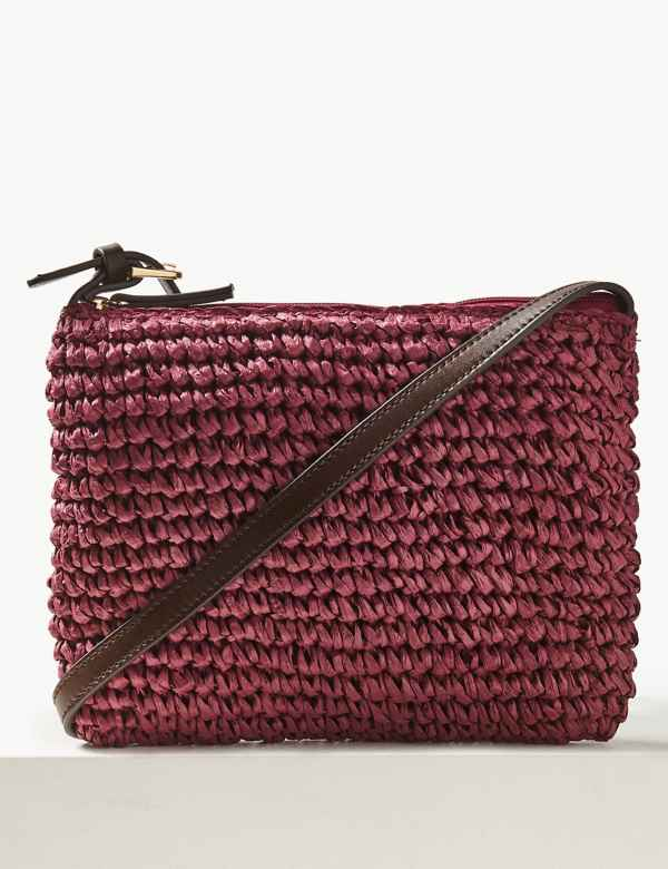 2122a5f078 Straw Cross Body Bag