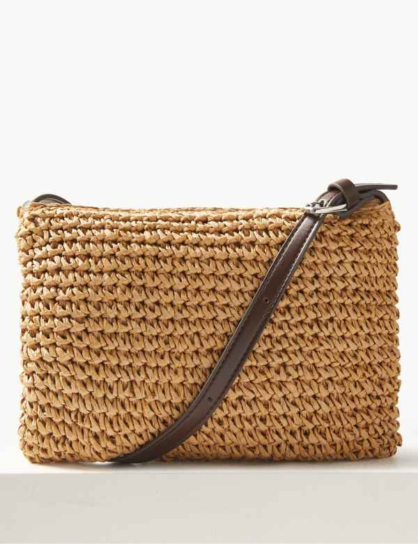 Straw Cross Body Bag 6b9918e7470d9