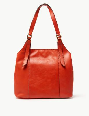 f3570424d1c Leather 3 Compartment Hobo Bag £89.00