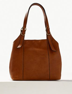 db1fcfb117ee Leather 3 Compartment Hobo Bag £89.00