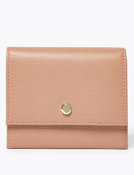 Leather Cardsafe™ Purse