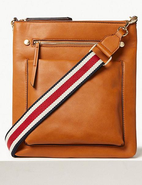 Webbing Strap Messenger Bag