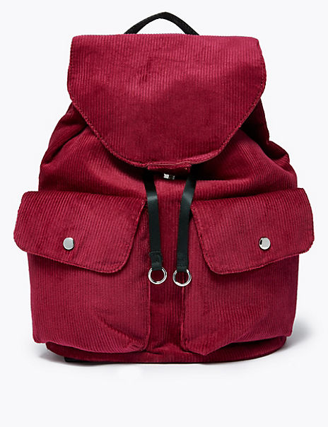 Cord Slouchy Backpack