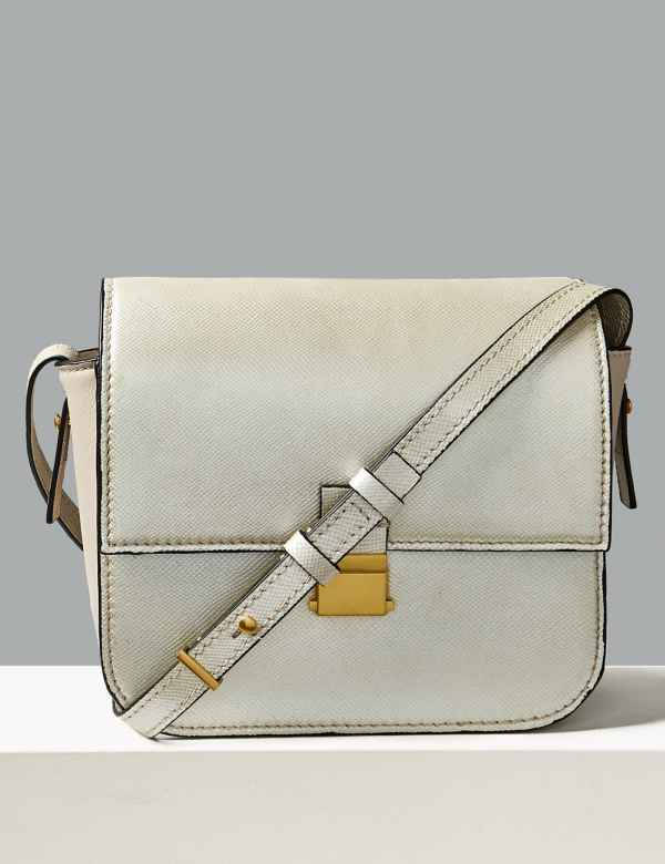 4 colours available. Sparks. Leather Cross Body Bag e772826dac4ad