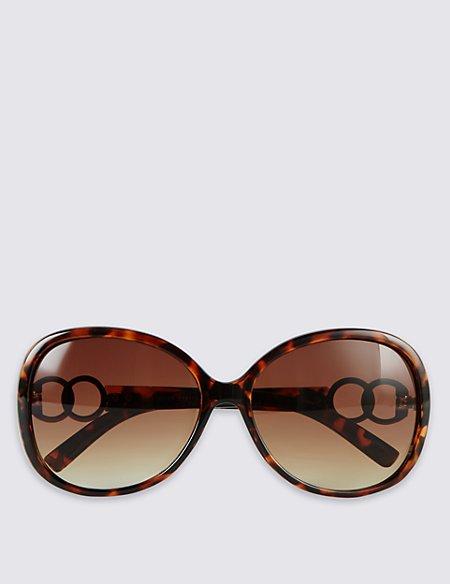 Oversized Bling Sunglasses