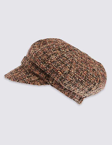 Product images. Skip Carousel. Boucle Baker Boy Cap ... bc2a3bfb2e3