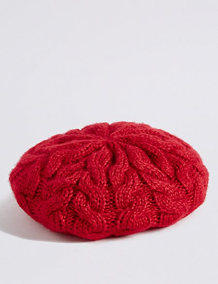 Product images. Skip Carousel. Cable Knit Beret Hat 96950ac8b8f