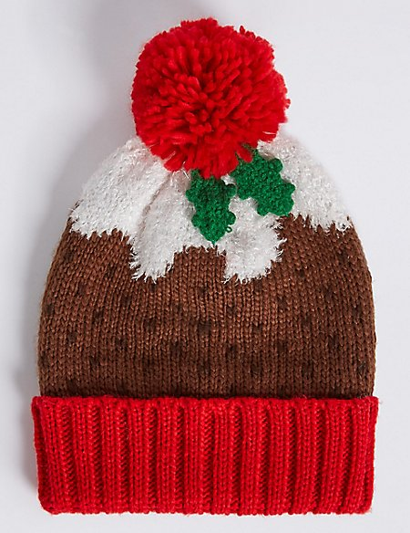 Christmas Pudding Hat Ms Collection Ms