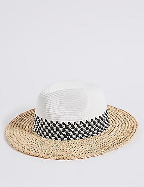 Mono Fedora Hat