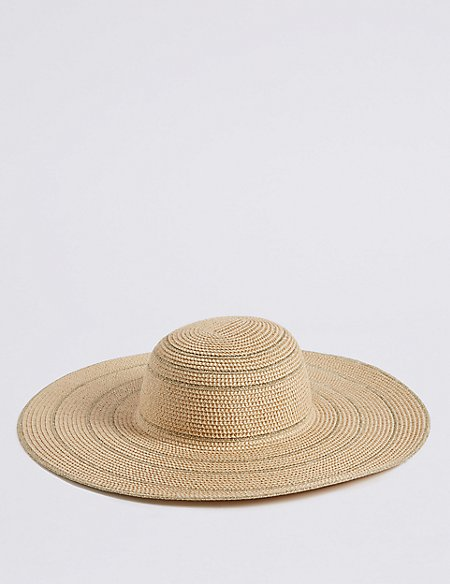 Metallic Floppy Hat