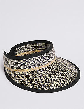 Textured Visor Sun Hat