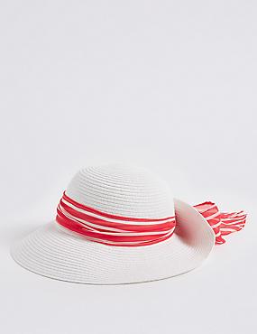 Crinkle Scarf Sun Hat