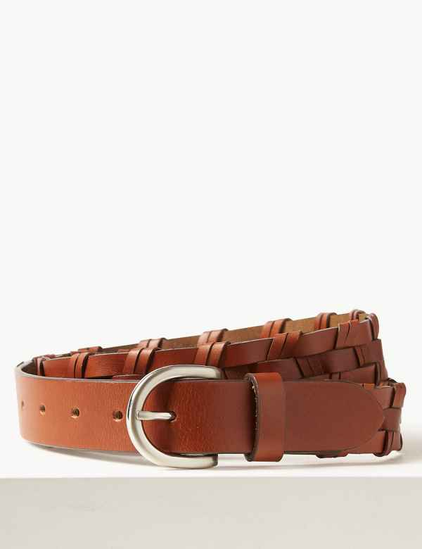 1b65a3c161f Leather Buckle Hip Belt