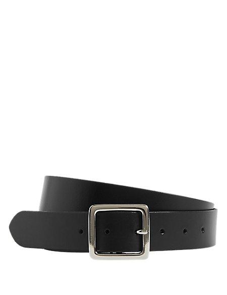 Leather Core Jeans Hip Belt